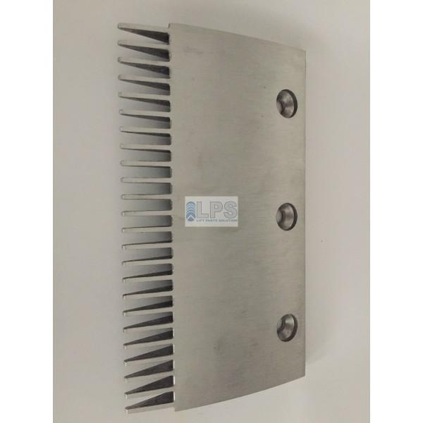 40901100 THYSSEN Escalator Velino Comb Plate 204X116mm, 24T